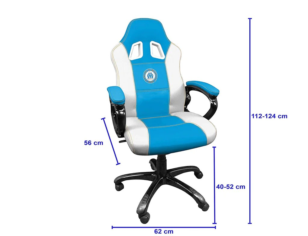 Promo Chaise Gamer Subsonic Siege Gaming Baquet Fauteuil Gamer Avec Assise